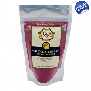 Wild Blueberry Extract 100g