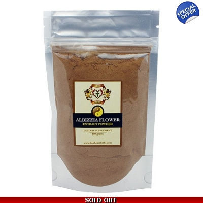 Albizzia Flower Extract 50g