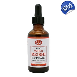 Wild Reishi Extract 1:1 Dual Extraction Tincture 60ml / 2f..