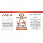 Wild Reishi Extract 1:1 Dual Extraction Tincture 60ml / 2floz