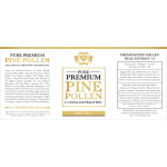 Pine Pollen Premium Extract 1:1 Dual Extraction Tincture 60ml / 2floz
