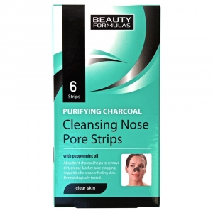Beauty Formulas Purifying Charcoal Cleansing Nose Pore Strips