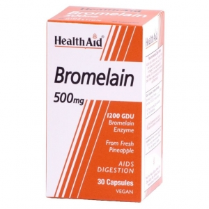 Health Aid Bromelain 500mg Vegecaps