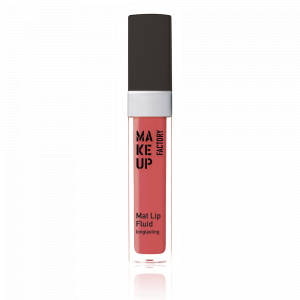 Make Up Factory Mat Lip Fluid Long Lasting 34 Pink Scarlet