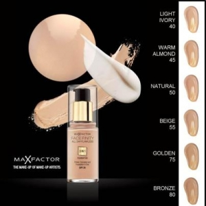 Max Factor Face Finity 3 In 1 Foundation 65 Blushing Beige