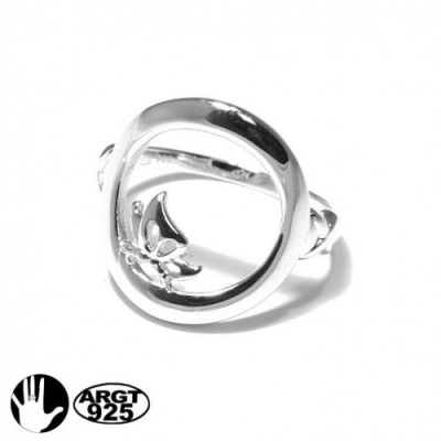 RING SILVER 925 with bu..