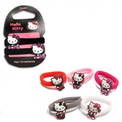 HELLO KITTY HAIR ELASTICS