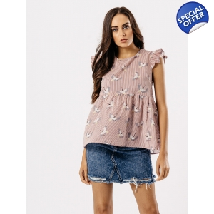 Swallow smock top