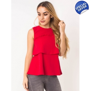 Layer Frill Top