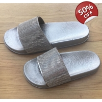 Diamanté sliders