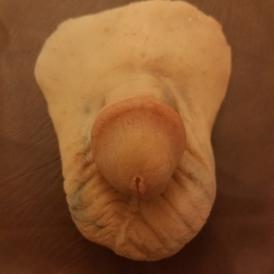"2.5""  PETITE PACKER prosthetic-ultrasoft adult penis packer"