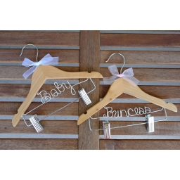 Childrens Hangers with clips