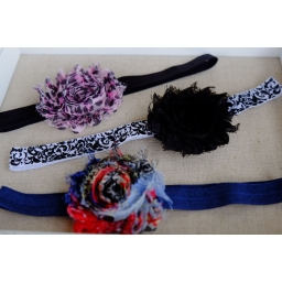 Girls flower headbands