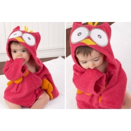 Owl bathrobe