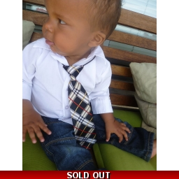 Boys Neck Tie - Lots of Colo..