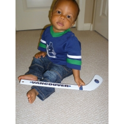 Toddler Canucks Hockey Stick