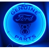 Ford V8 Genuine Parts Neon Sign 24 inc..