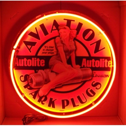 Full Can 24 inch Aviation Spark Plugs Neon