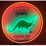 Sinclair Dino 24 inch Full Can Neon Si..