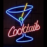 Cocktails-and-Martini Neon Sign 26-x-23