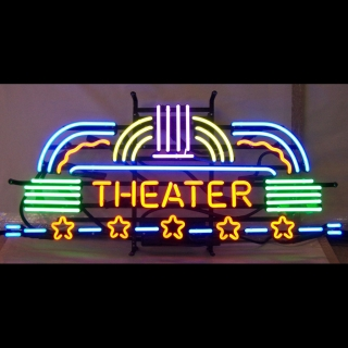 Theater Neon Sign 16h x 35w