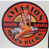 Aviation Spark Plugs Decal