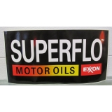 Superflo Motor Oils Exxon Black Vinyl ..