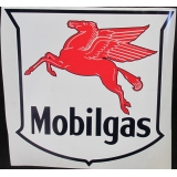 Mobilgas Pegasus Oil Vinyl Decal