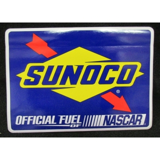 Sunoco NASCAR Fuel Vinyl Decal