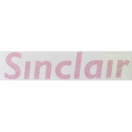 Sinclair Gas Pump Decal