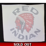 Red Indian Circle  Decal