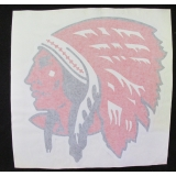 Red Indian Decal