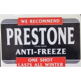 Prestone Anti-Freeze Decal