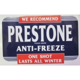 Prestone Anti-Freeze Decal small