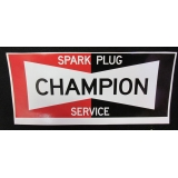 Champion Spark Plug Decal