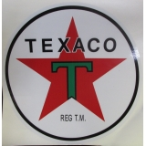 Texaco Gas Vinyl Decal 12