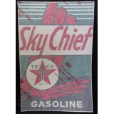 Texaco Sky Chief Vinyl Decal Gas Pump