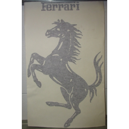 Ferrari Car Vinyl Decal