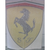 Ferrari Car Vinyl Decal Emblem