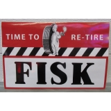 Fisk tire Vinyl decal