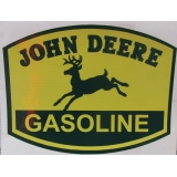 John Deere Gasoline Vinyl Decal