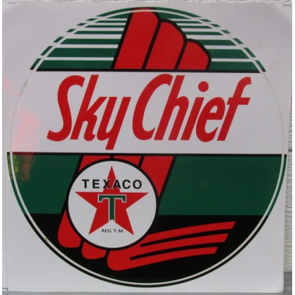 Texaco Sky Chief Small Decal