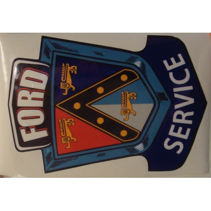 Ford Service Decal 14.5""
