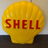 Shell Fiberglass Embossed Advertising ..