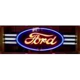 9ft x 3ft Ford Logo Full Size Multi Ne..
