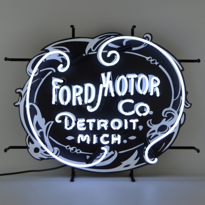 AUTO – FORD MOTOR COMPANY 1903 HERITAGE EMBLEM NEON SIGN