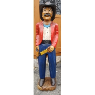 Life Size 6ft tall Mahogany Wood Hand ..