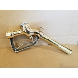 ORIGINAL BRASS OPW HOOK GAS PUMP NOZZL..