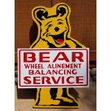 Bear Alignment Advertising Sign Double..
