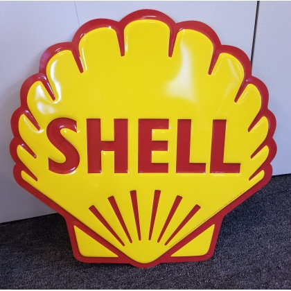 "24"" Tall Shell Clam Gasoline Metal Sign NEW"